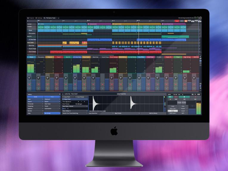 Tracktion Unveils Waveform 9 Music Production Software