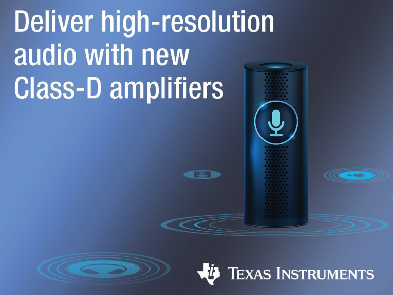 Texas Instruments Launches Three New Class-D Amplifiers to