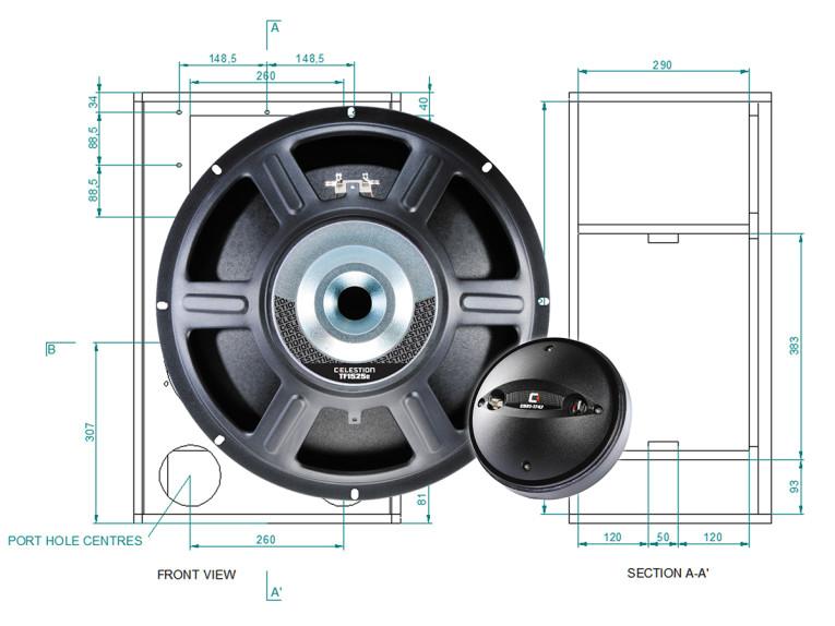 Celestion Offers Premium Quality P A  Cabinet Designs for DIY