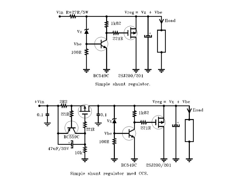 Shunt or Not - Looking for the Ultimate Audio Voltage Regulator