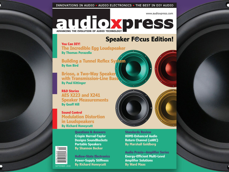 It's Speaker Builder Time! Get Your Copy of audioXpress