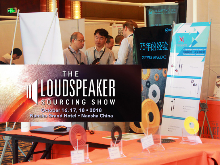 The Loudspeaker Sourcing Show 2018 Returns with Even More OEM/ODM