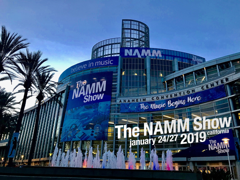Billedresultat for the namm show 2019