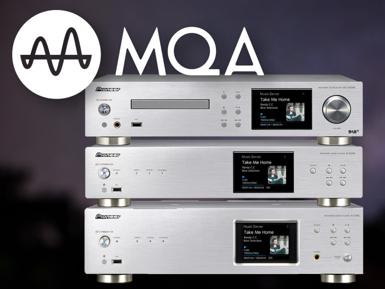Pioneer Announces Roll-Out of MQA Support for Home Audio
