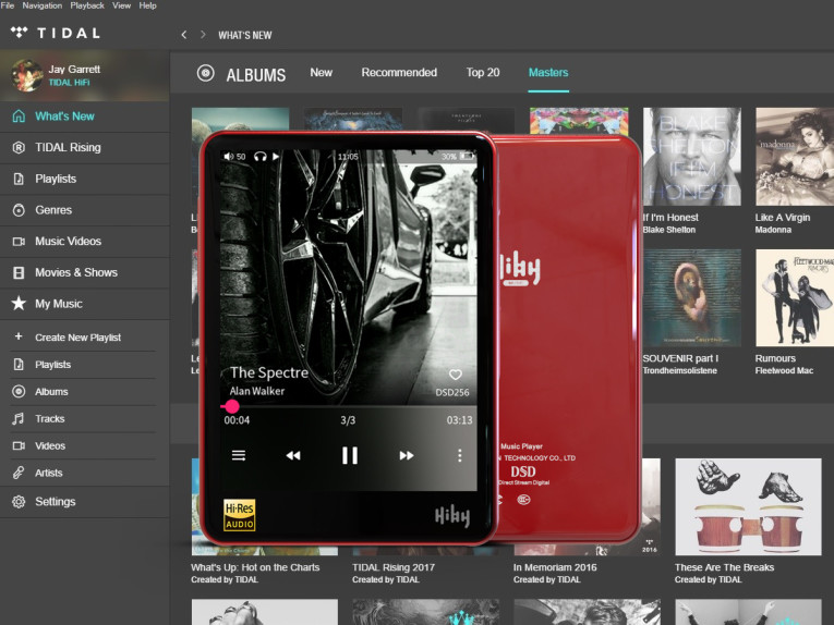 HiBy Introduces MQA to its R3 Tidal Portable Music Player