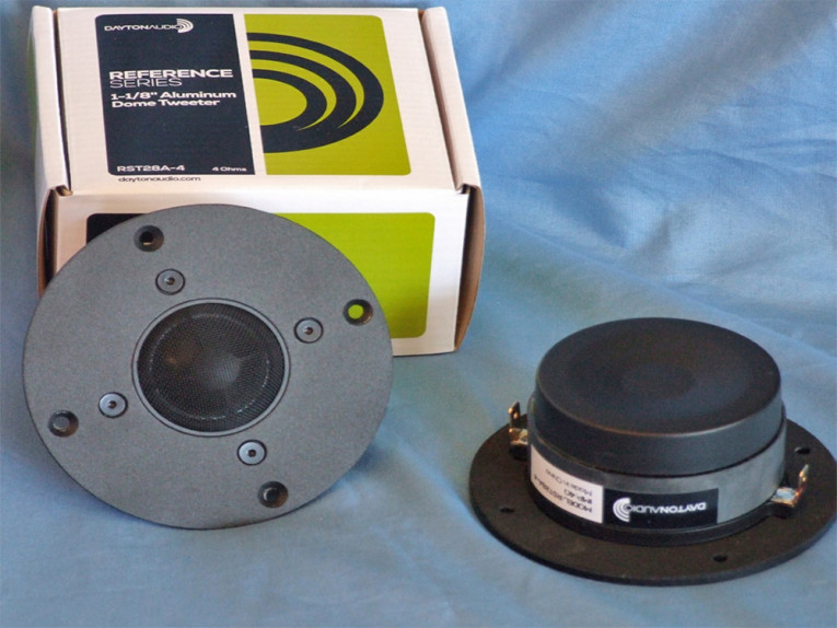 Test Bench: Two 28 mm Dome Tweeters from Dayton Audio: RST28A-4 and