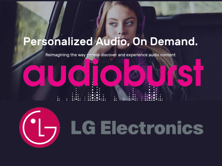 LG Electronics and Audioburst Collaborate to Build Audio
