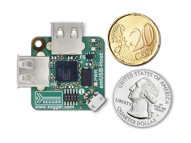 SEGGER Introduces Microcontroller-Based Dual USB Development