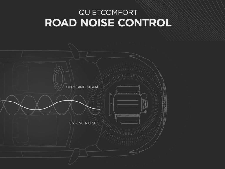 Bose Introduces QuietComfort Road Noise Control Car Sound Management