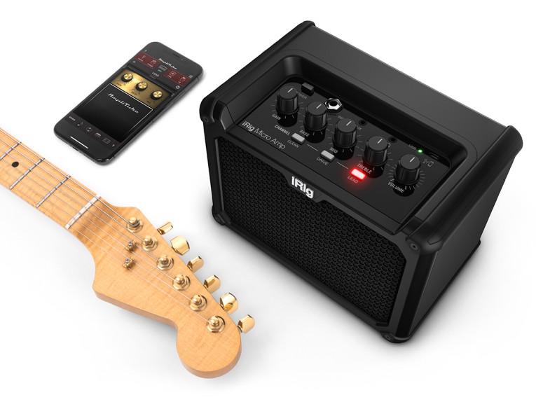 IK Multimedia Announces iRig Micro Amp Ultra-Compact Guitar