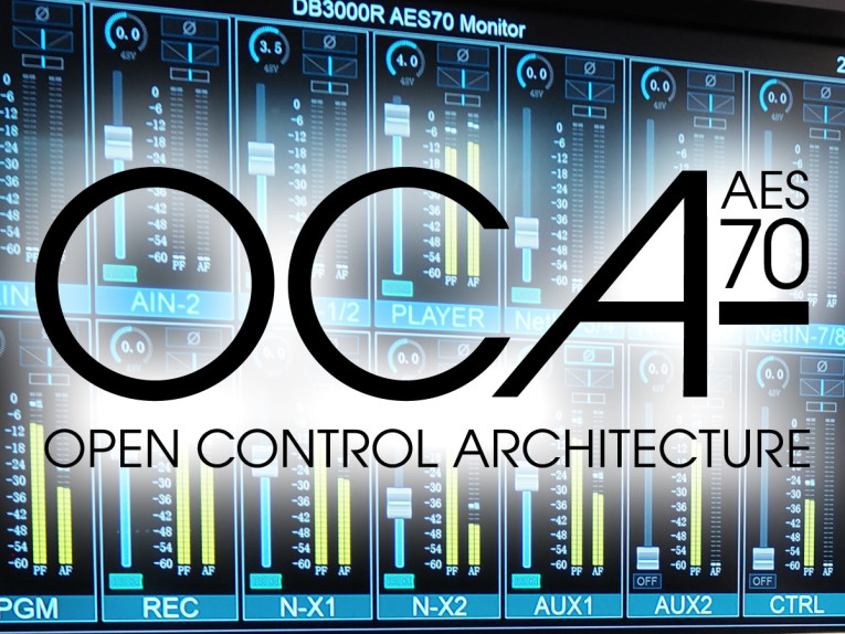 OCA Alliance Promotes AES70 Control Standard Upgrade at ISE 2019
