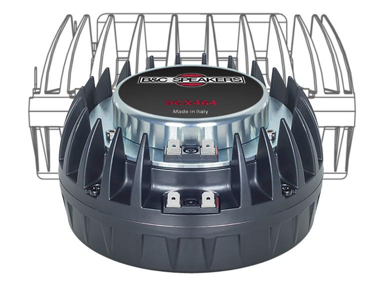 B&C Speakers Debuts DCX464 Coaxial Compression Driver   audioXpress