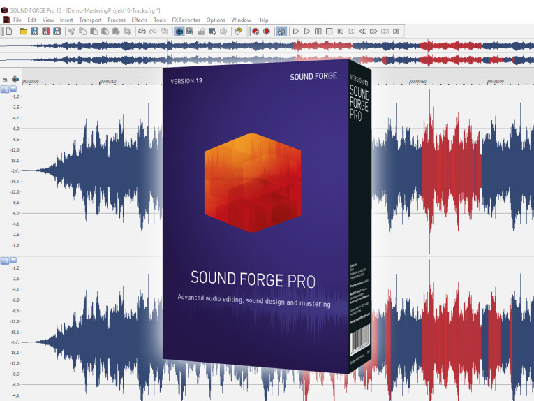 Magix Releases Sound Forge Pro 13 with Redesigned Interface, New VST