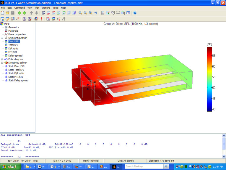 Predictive Acoustics and Acoustical Modeling Software: Duran