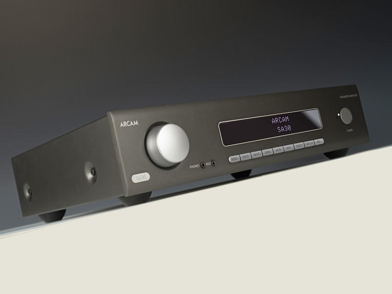 Arcam Launches SA30 Integrated Stereo Amplifier Featuring