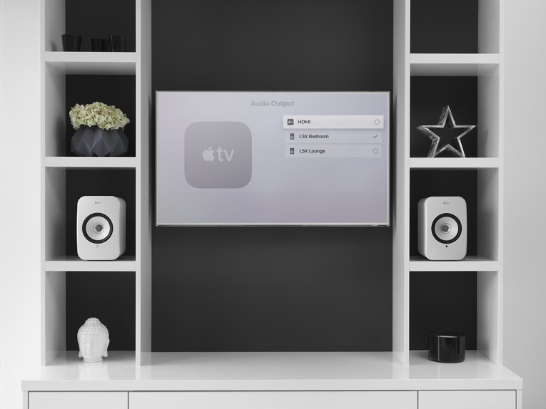 KEF Brings Apple AirPlay 2 to LSX Wireless Music System