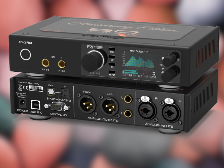 RME Updates ADI-2 Pro Firmware with User-Requested Features