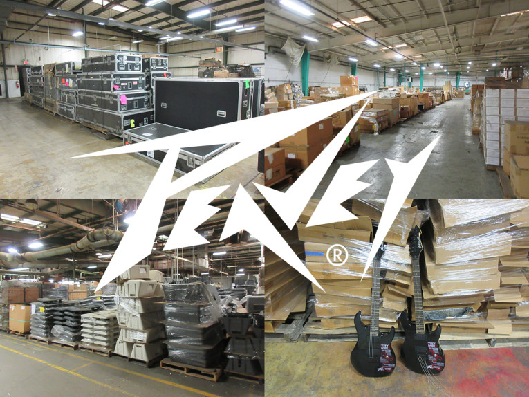 Peavey Electronics Announces Auction on Inventory & Assets