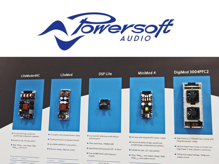Amplifier Series: Powersoft OEM Power Amplifier Modules