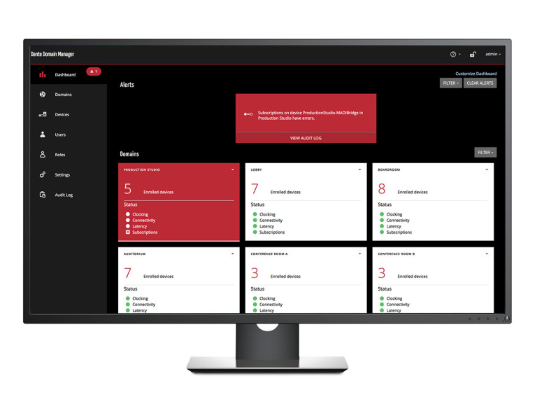 Audinate Releases Update to Dante Domain Manager with