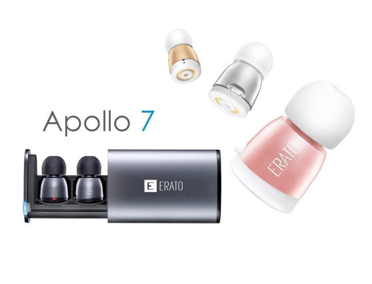4e5ddf61883 Erato Audio Technology Promotes Apollo 7 Compact True Wireless Earphones on  Kickstarter