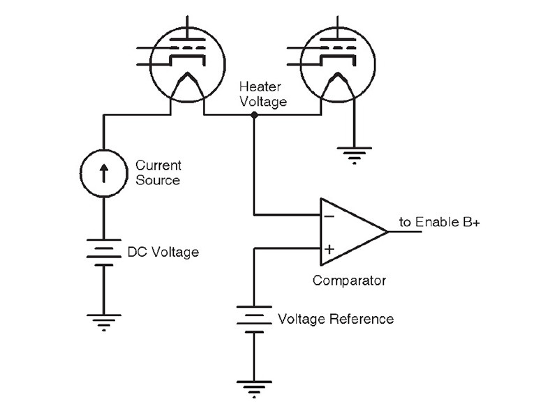 constant current for tube heaters  extend the life of your