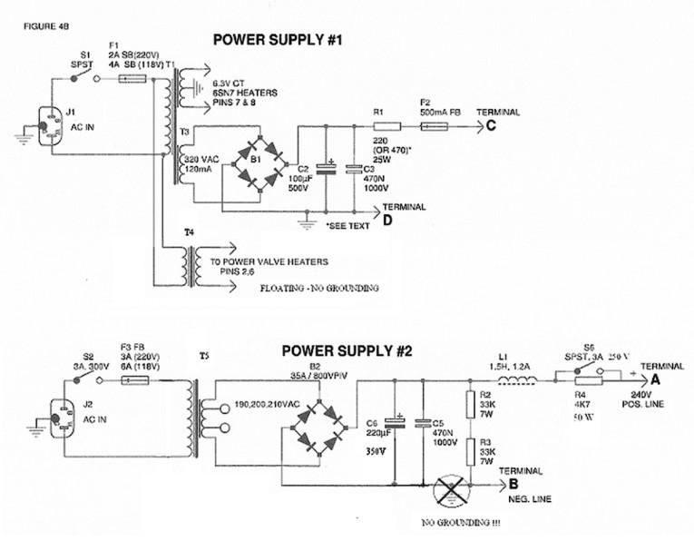 figure 4b: power supplies