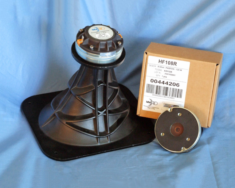 Test Bench: Faital Pro HF108R Compression Driver | audioXpress