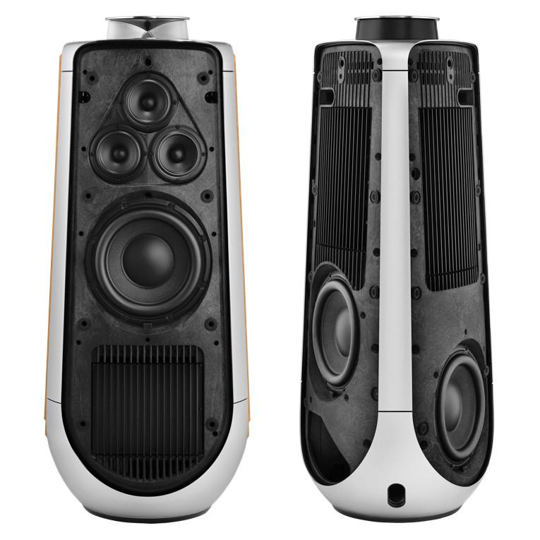bang olufsen unveils beolab 50 speaker system audioxpress. Black Bedroom Furniture Sets. Home Design Ideas