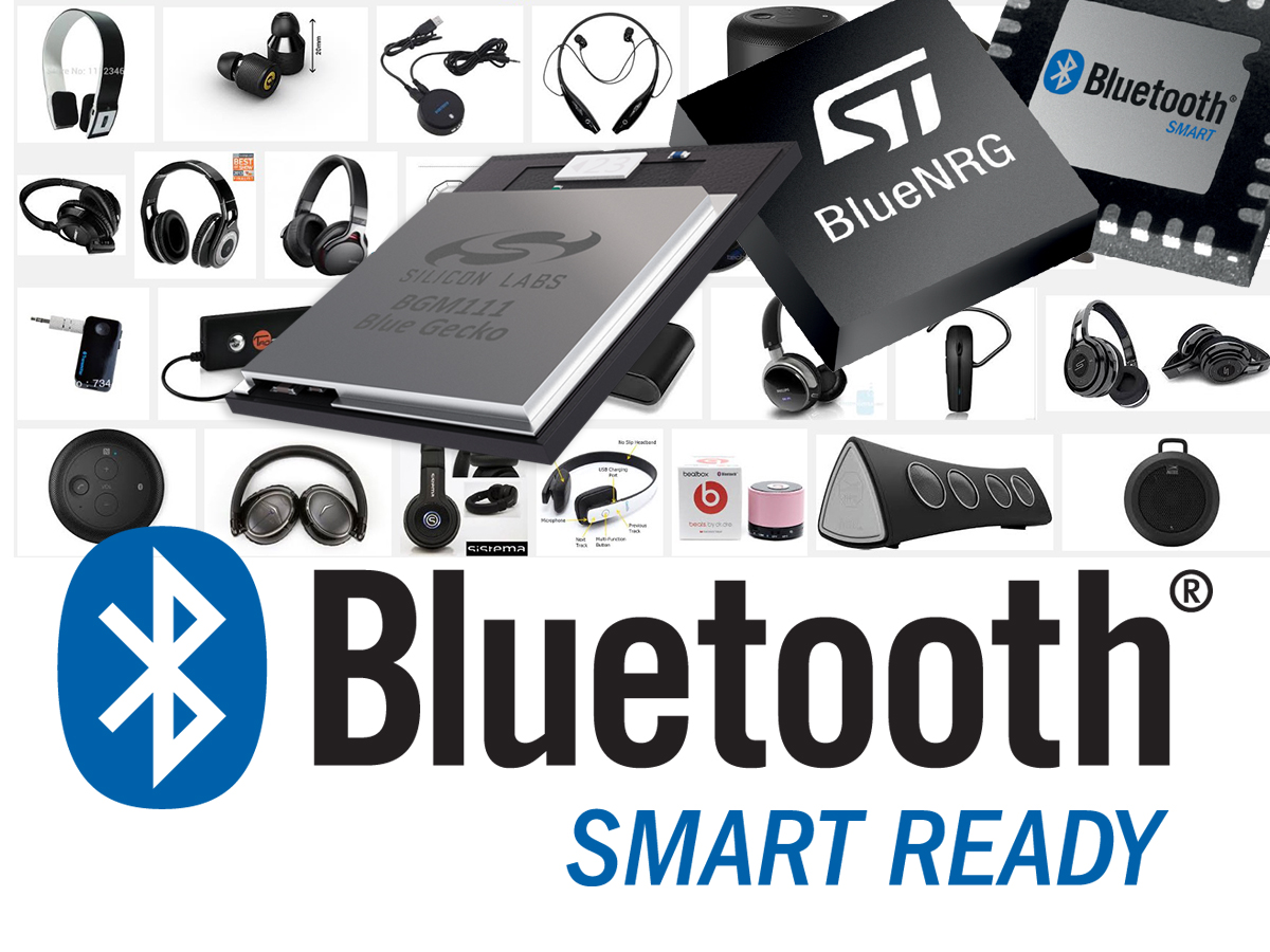 Bluetooth low energy exhibiting strong growth while wireless ic