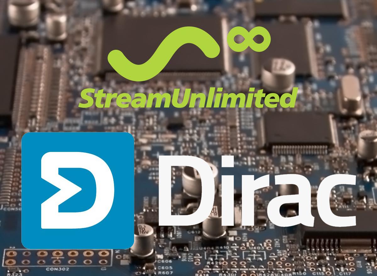 Dirac Research Certifies StreamUnlimited's StreamSDK