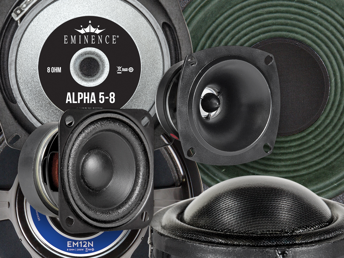 New 2018 Drivers from Eminence Speaker