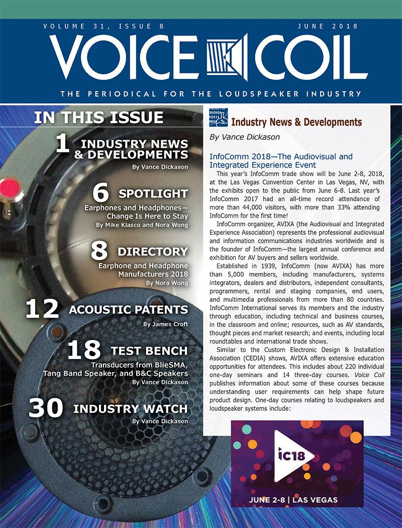 Voice Coil June 2018