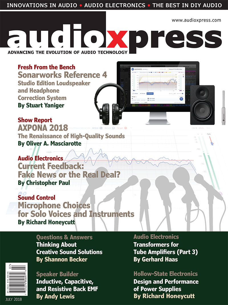 audioXpress July 2018