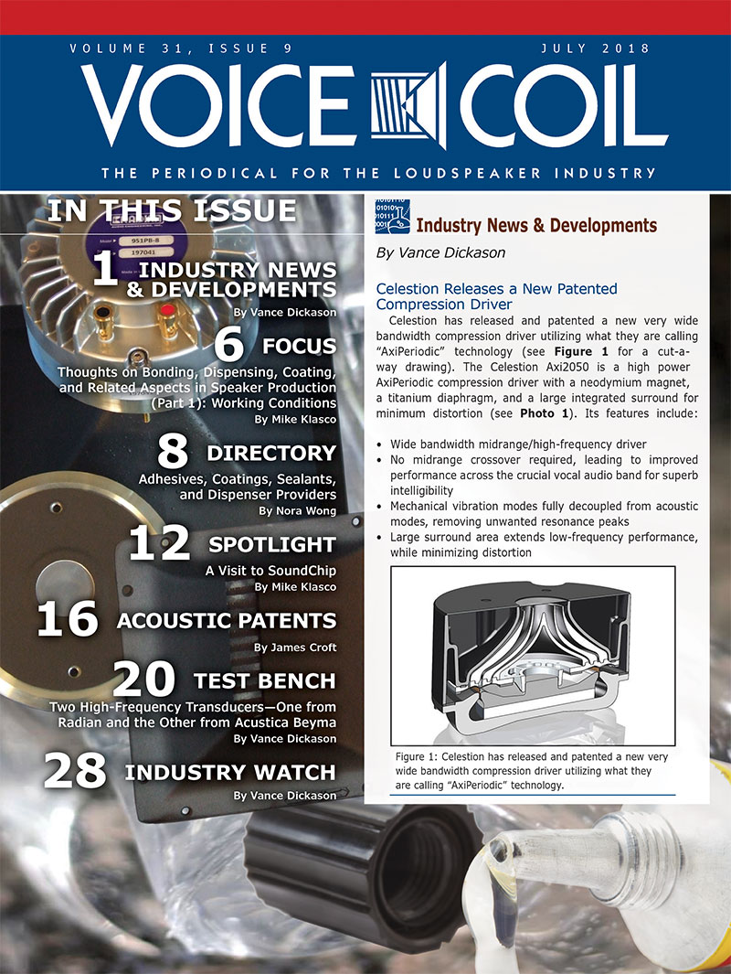 Voice Coil July 2018