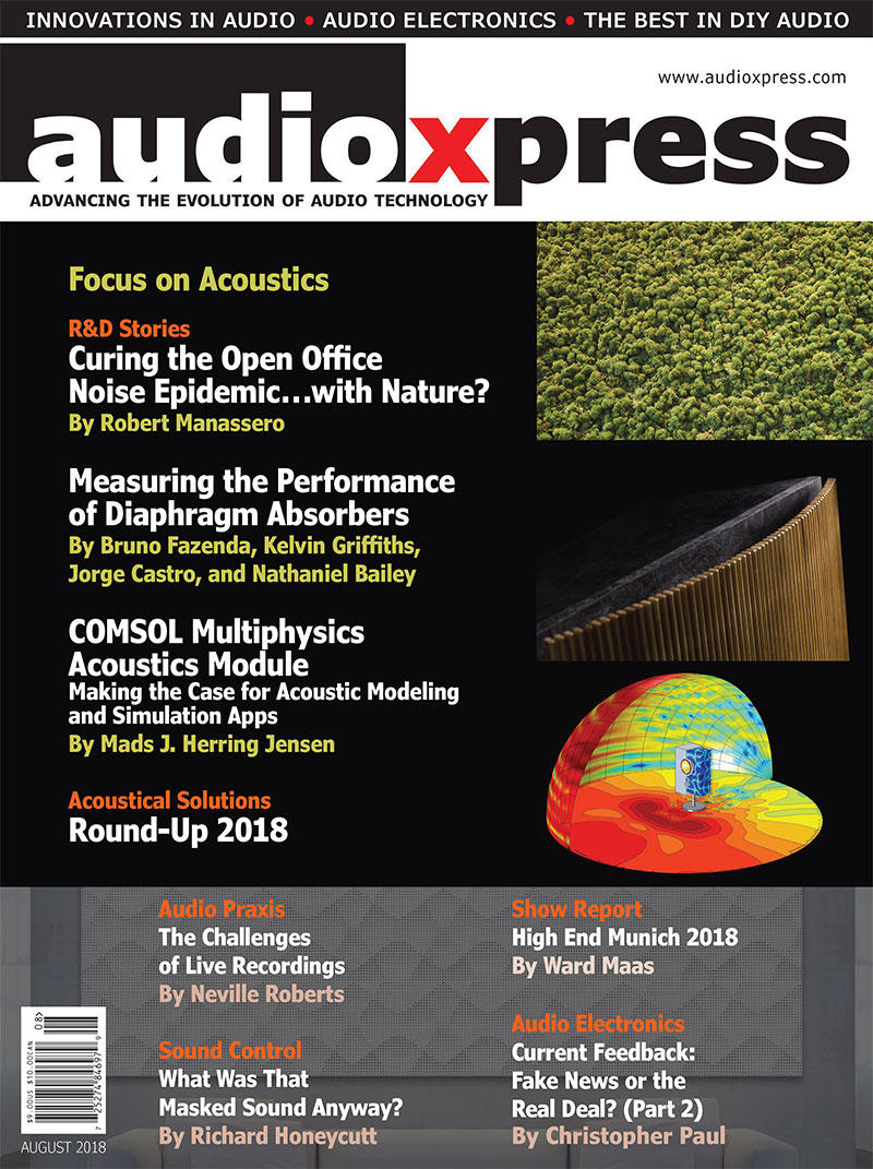 audioXpress August 2018