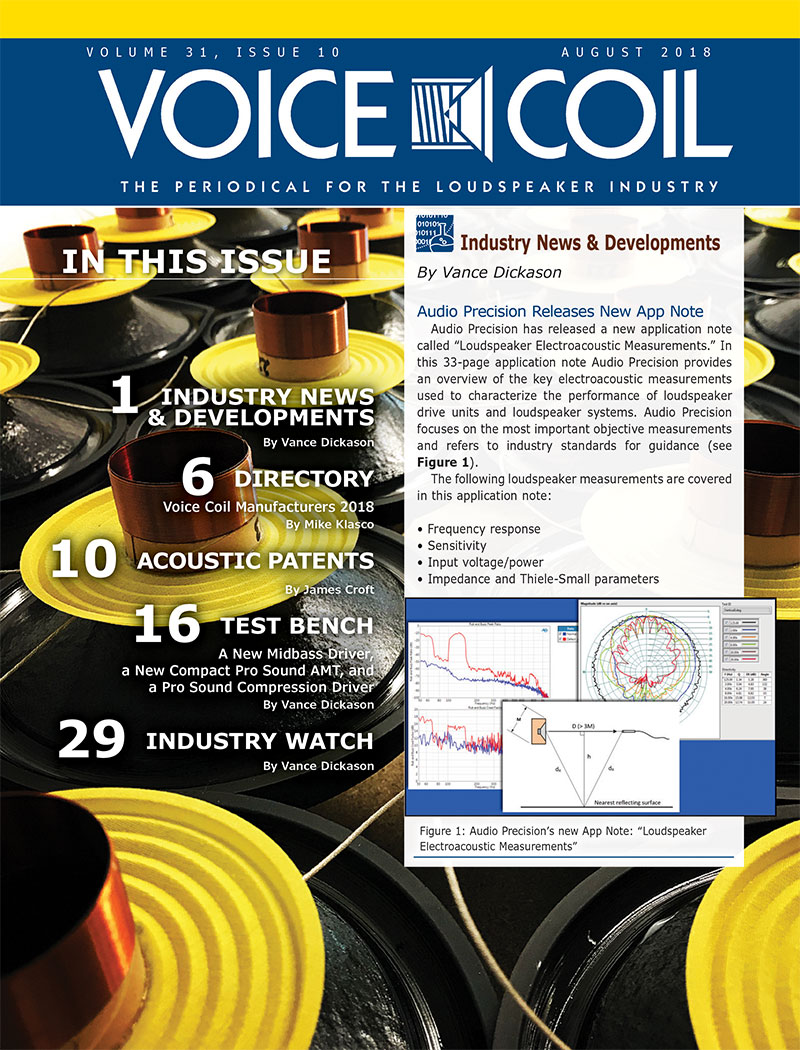 Voice Coil August 2018