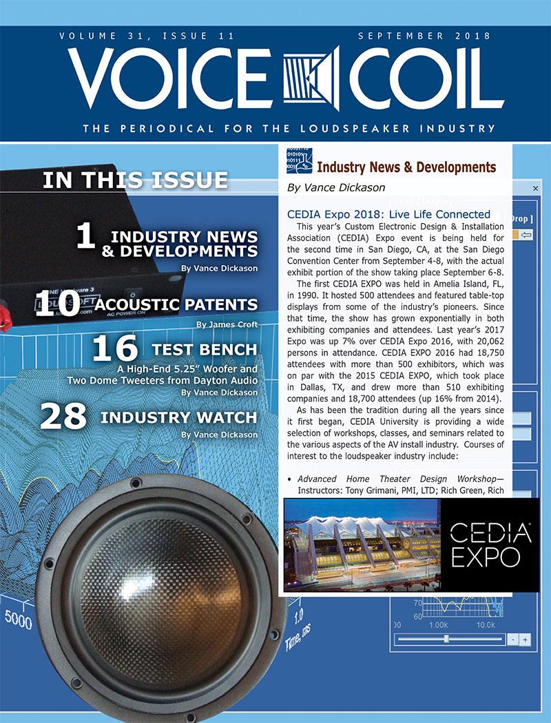 Voice Coil September 2018