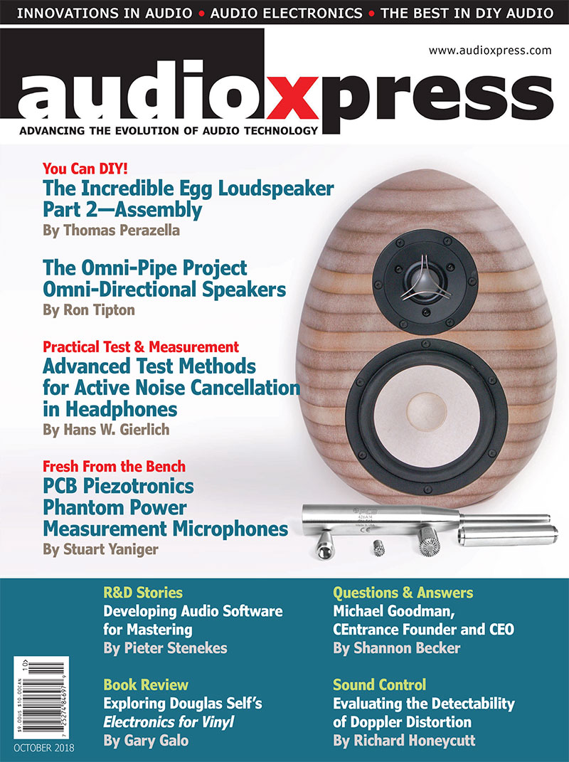 audioXpress October 2018