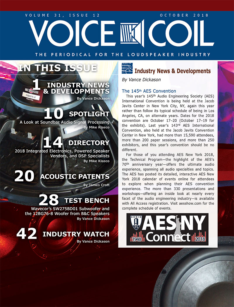 Voice Coil October 2018