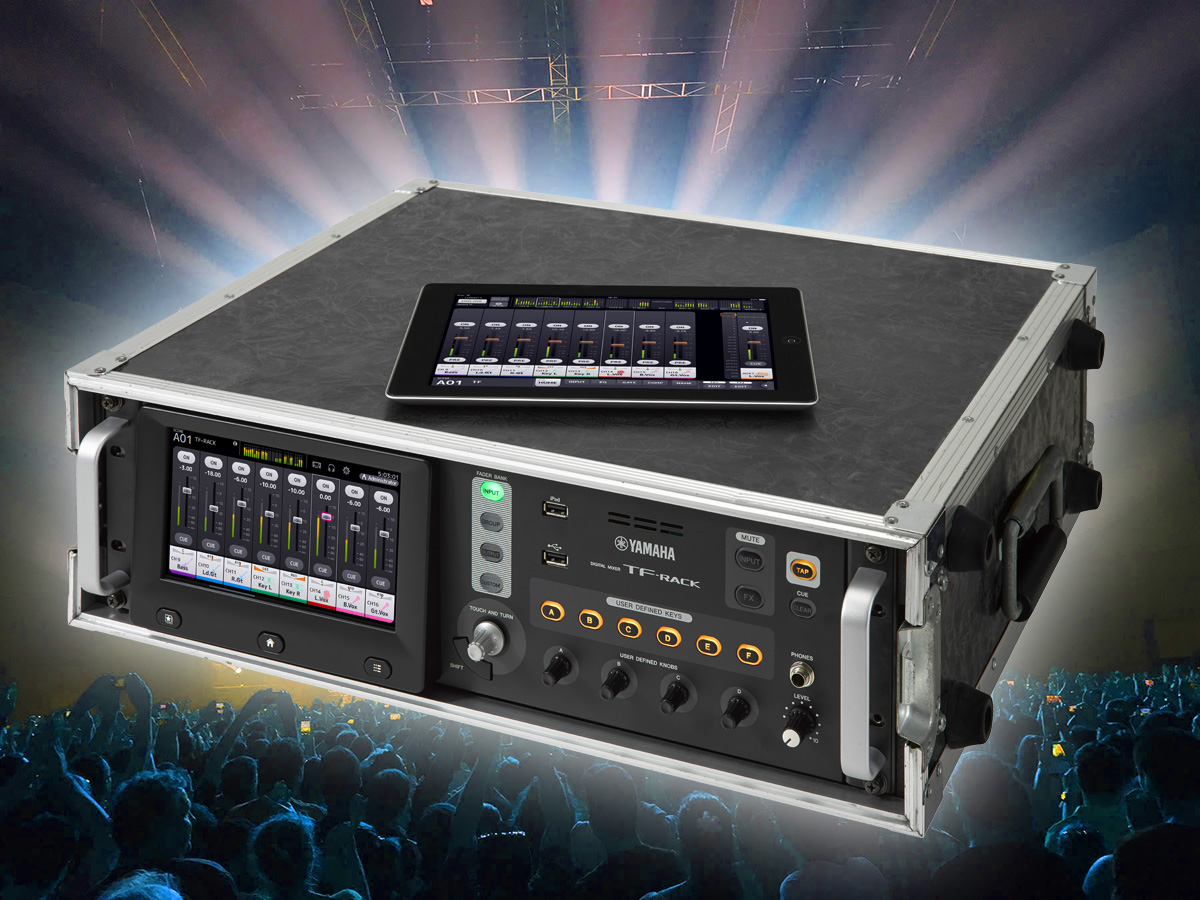 yamaha expands tf series digital mixer lineup with new. Black Bedroom Furniture Sets. Home Design Ideas