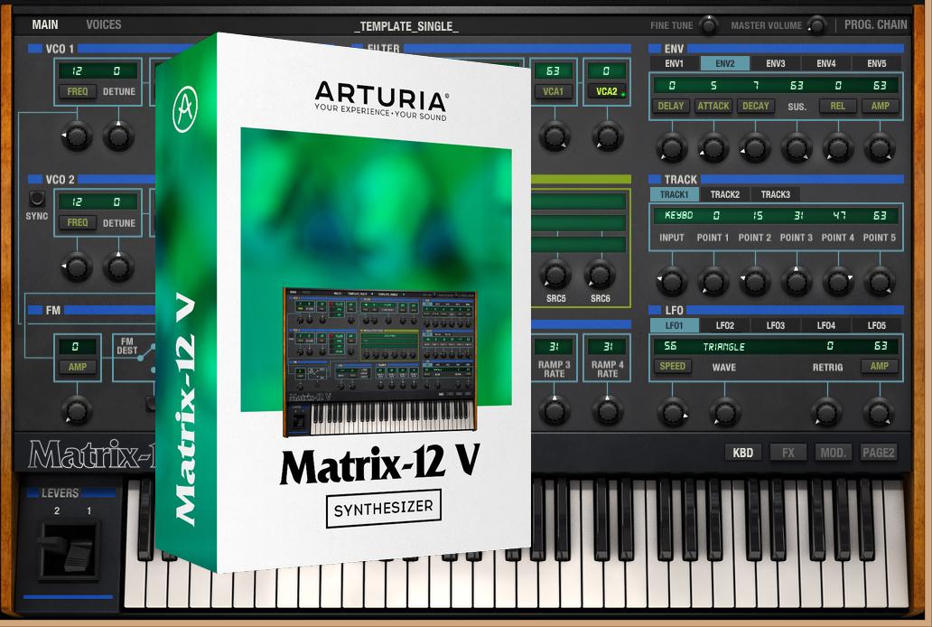 Arturia Launches Oberheim Matrix-12 Analog Polysynth Software