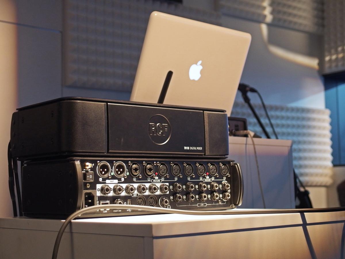 rcf launches m18 digital mixer and expands l pad mixer range audioxpress. Black Bedroom Furniture Sets. Home Design Ideas