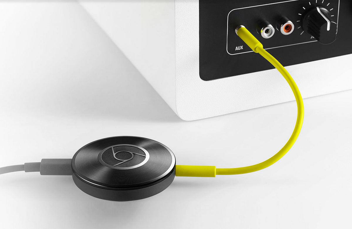 Google Announces Chromecast Audio To Bring Wireless Any How Build Electronic Stethoscope Active Speakers Audioxpress