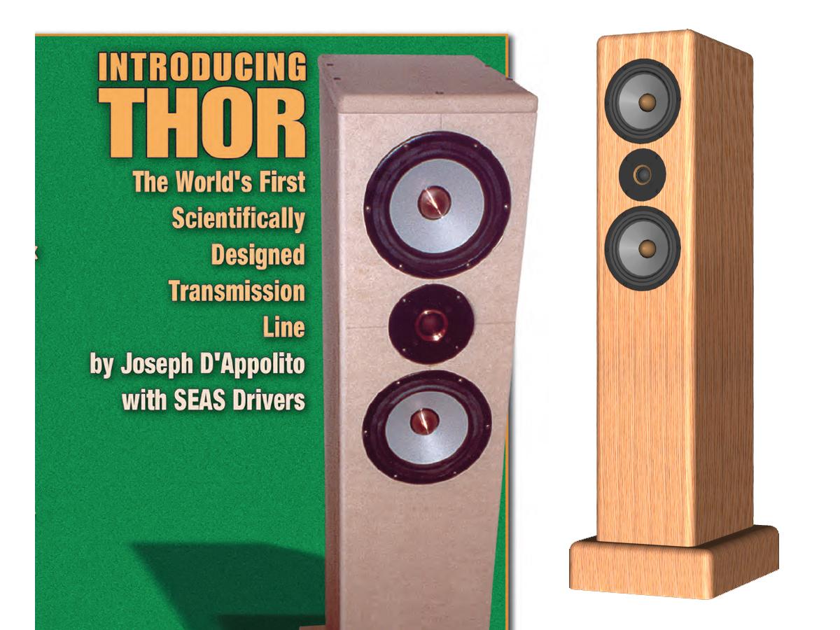 THOR: A D'Appolito Transmission Line | audioXpress