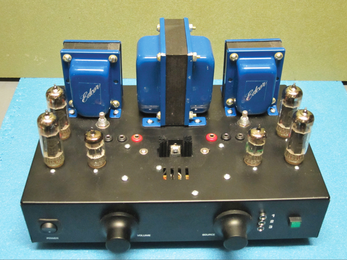 Poddwatt Series Ii Stereo Integrated Valve Amplifier Audioxpress Circuit Diagram Audio Tube Typical Application
