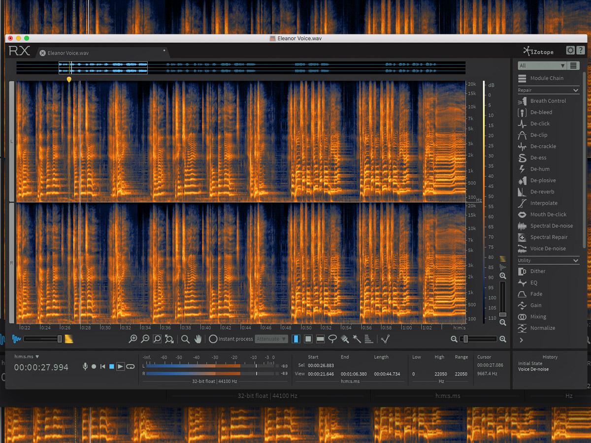 iZotope Unveils RX 6 Audio Repair and Enhancement Software | audioXpress