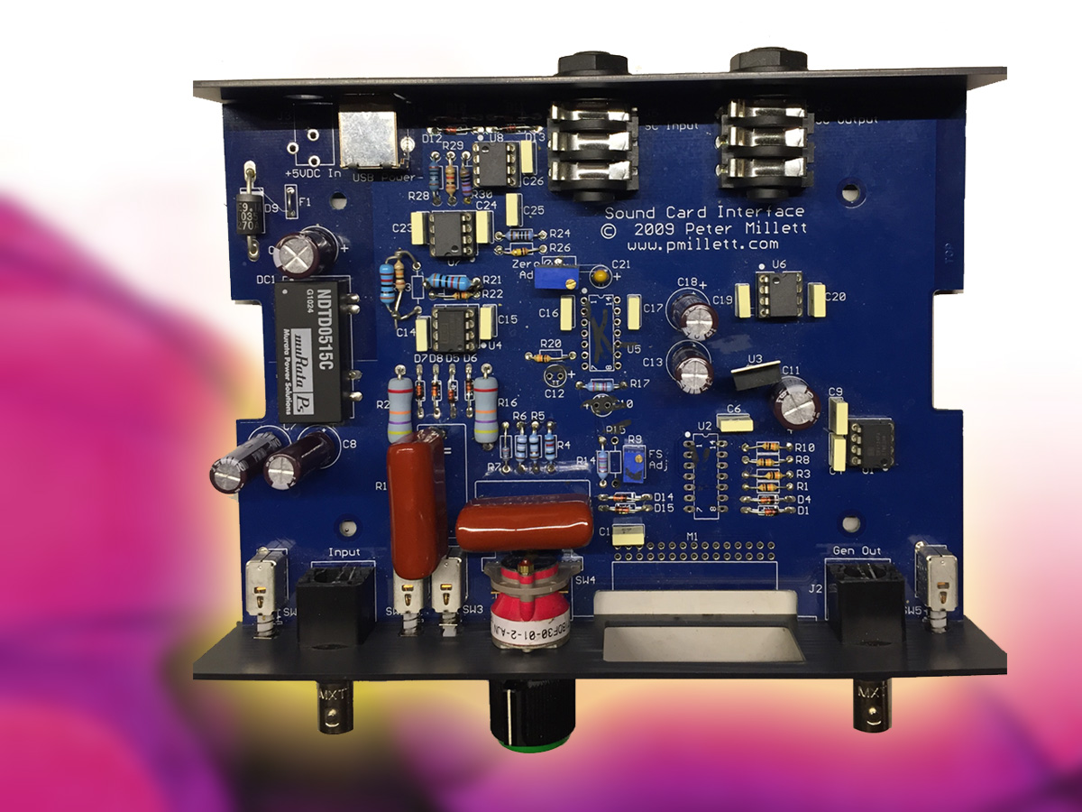Practical Test Measurement Sound Cards For Data Acquisition In Usb Card Circuit Diagram Audio Measurements Part 4 Audioxpress
