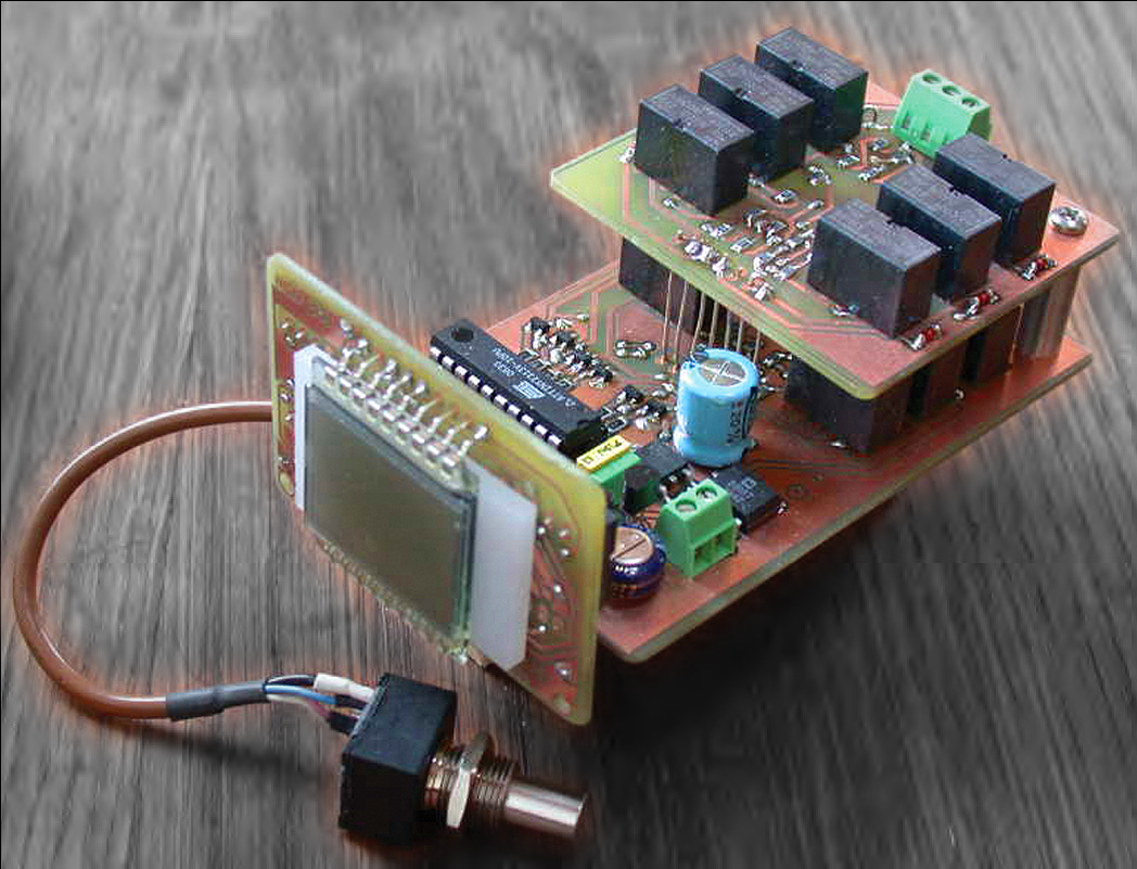 Build A Bcd Digital Potentiometer Audioxpress Relay Toggle Circuit Electronic Directory