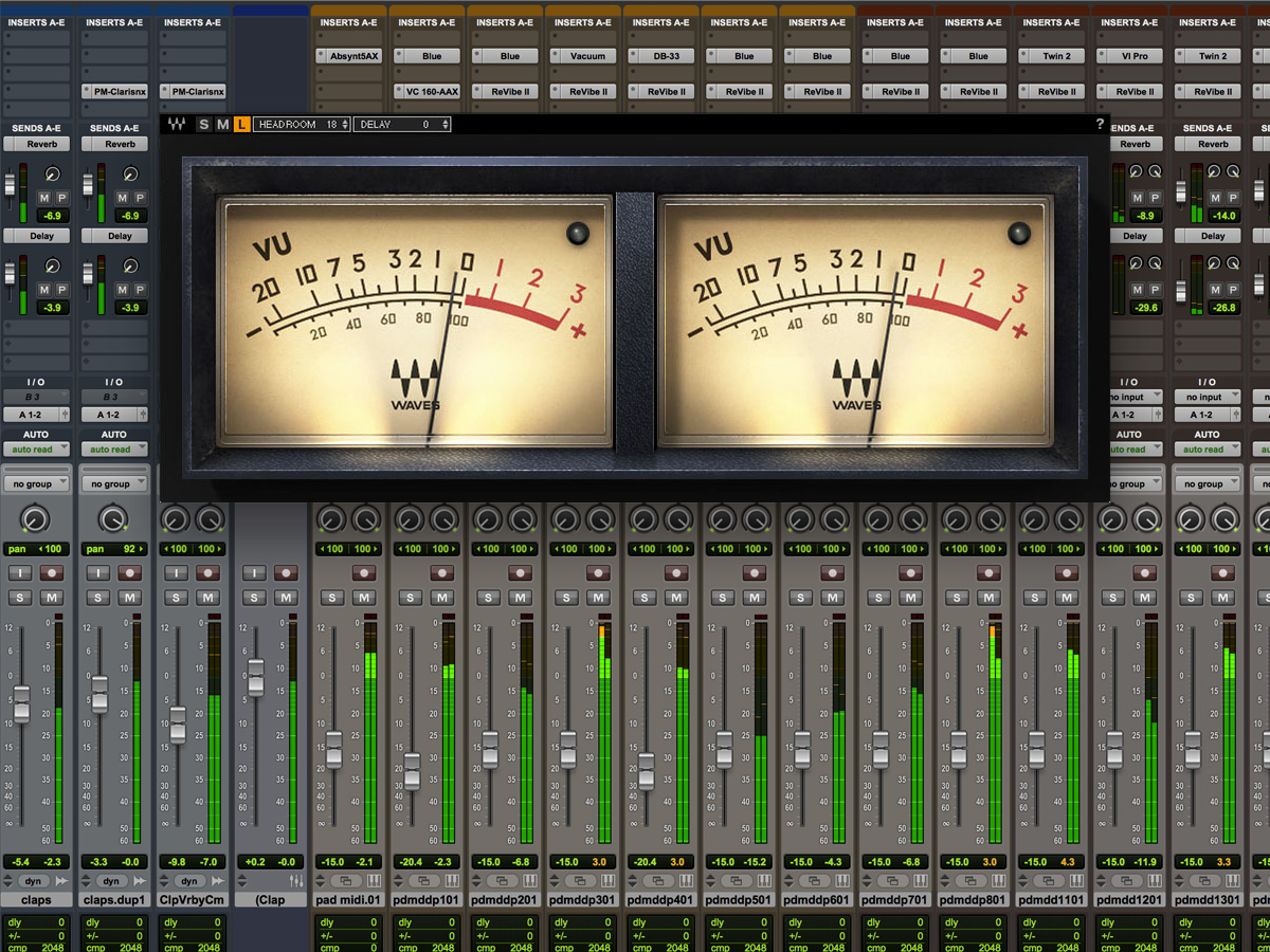 Waves Audio Offers New Vu Meter Audioxpress 1